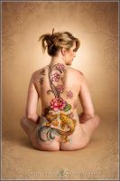 Japanese Bodypaint Backpiece by Battledress