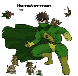Hamsterman by Damster