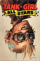 Tank Girl All Stars 3 by blitzcadet
