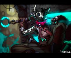 Ekko cosplay! by DemonSoulk