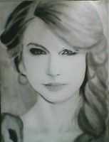 2013 drawing - Ms. Taylor Swift :) by nielopena