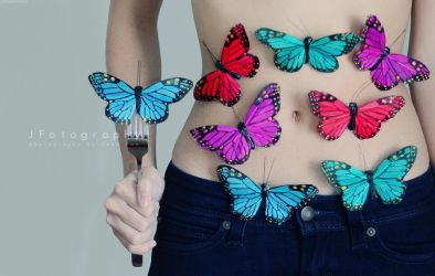Butterflies In My Stomach by JeanFan