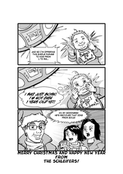 Merry Christmas 2015 by Komikino