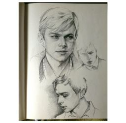 Dane DeHaan by MaryRiotJane
