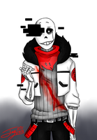 Aftertale/Echotale: Gaster!Sans by Jay101
