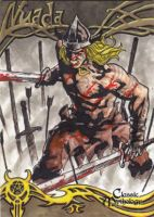 Nuada Sketch Card - Nestor Celario Jr. by Pernastudios