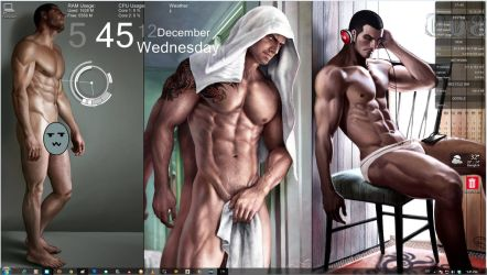 I just love my wallpaper. ^,.^ by aenaluck