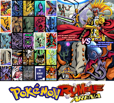 Pokemon Rumble Arena by Pokemon-FR