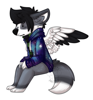 Space Fox by Rattus-Shannica