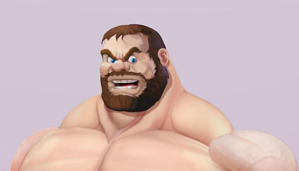 Improved Bluto head by Blathering