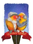 Warmest Wishes - HOLIDAY CARD by Brushfeather