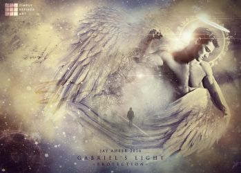 Gabriel's Light ~Protection~ by SimplyDefinedArt