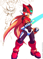 Zero - Sketch by Tomycase