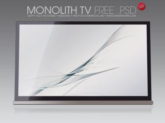 Monolith TV Free .psd by isoarts2