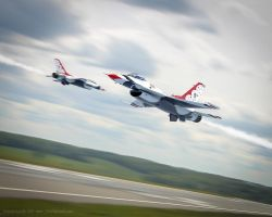 U.S.A.F. Thunderbirds by rOEN911