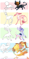 orig species base recolours! (full hksdhs) by hawberries