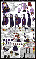 Vaati concept design-cosplay layout/tutorial tips by WalkingMelonsAAA