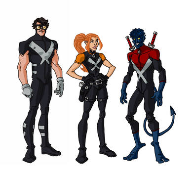 (W.I.P) - X-Men Redesigns (KRIS ANKA INSPIRED) by GEEKINELL