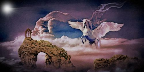 The Arrival - Pegasus by montag451