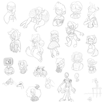 Stream Freebies 2-16 and 2-18 by Greteh