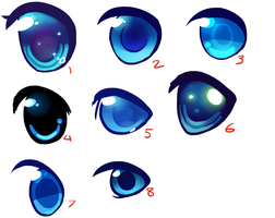 Help me decide an eye style? by JAYWlNG