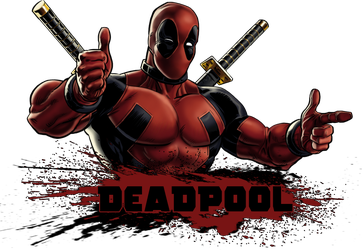 Deadpool icon + PNG by axeswy