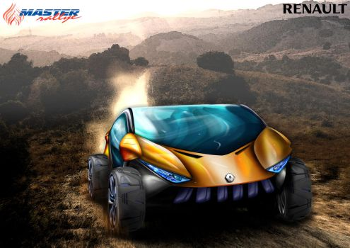 Renault Offroad Electic CUV Concept Render by toyonda