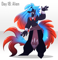 [30 Day Challenge] Day 18: Alien by frogtax