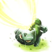 Bulbasaur used solarbeam! by elvereth