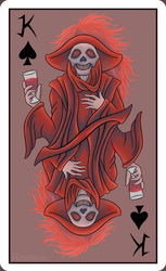 King of Spades by Ravesne