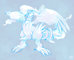 Reshiram by crayon-chewer