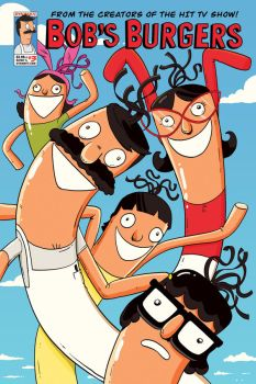 Bob's Burgers comic cover by Devinator200