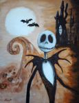 Jack Skellington by Quenta-Silmarillion