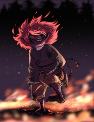 fire child by Spoonfayse