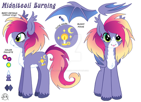 MLP- Ponysona by Midniteoil-Burning