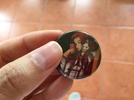 My Online Store - Ikeda 1 1/4 Inch Button by WDLady