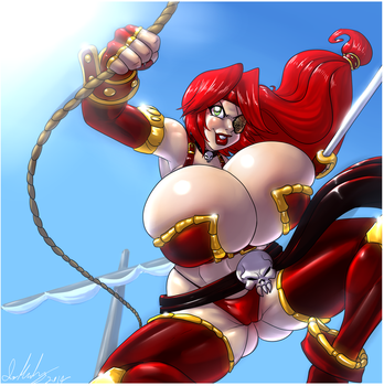 Veronica Red by Marauder6272