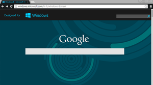 Windows 8 Chrome theme by sunkotora