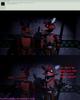 {Ask the animatronics} (158) Which one? by Teetheyhatty