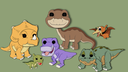 pops I wish funko would make!!! Land before time by Kphgraphics