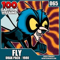 100 Cartoon Villains - 065 - Fly! by CreedStonegate
