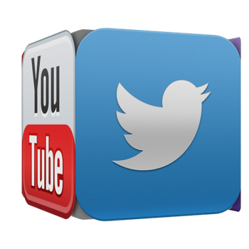 Social Block YouTube Twitter Twitch FaceBook or G+ by SwanArt