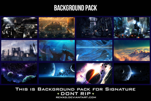 Background Pack  by RENXG