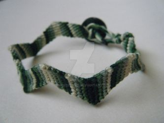 Green Camo Zigzag by rubberbend