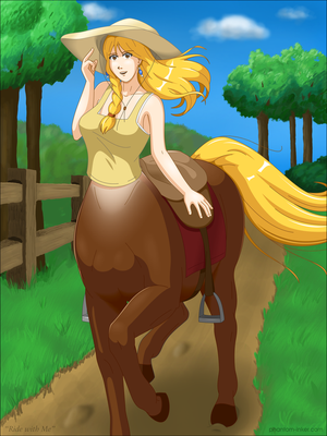 Ride with Me - SFW by phantom-inker