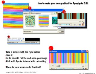 How to make your own gradients by mollywemel