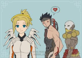Genji wants healing by luffie