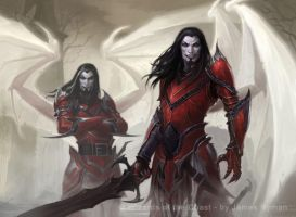 MtG - Falkenrath Marauders by namesjames