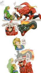 [tLoZ/HW] The memories of being Volvagia by Edo--sama