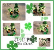 St. Patrick's Day Leprechaun by RedFenyx